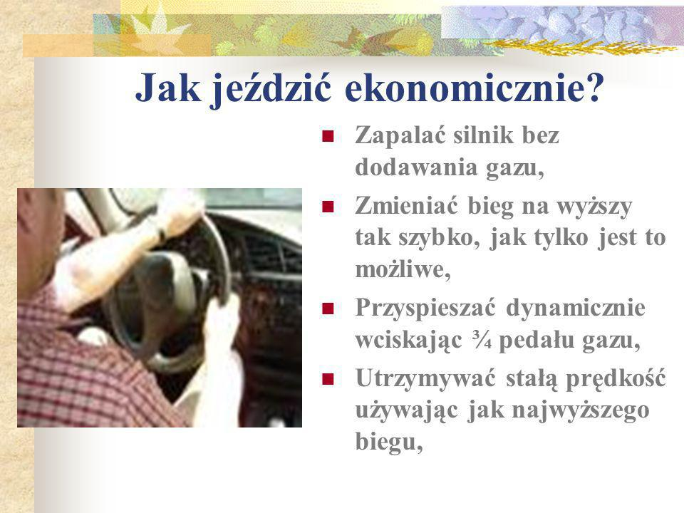 Co to jest EKO – JAZDA? EKO-JAZDA to pojęcie oznaczające płynną i bezpieczną jazdę, przynoszącą wymierne korzyści w postaci oszczędności 5-25% paliwa,