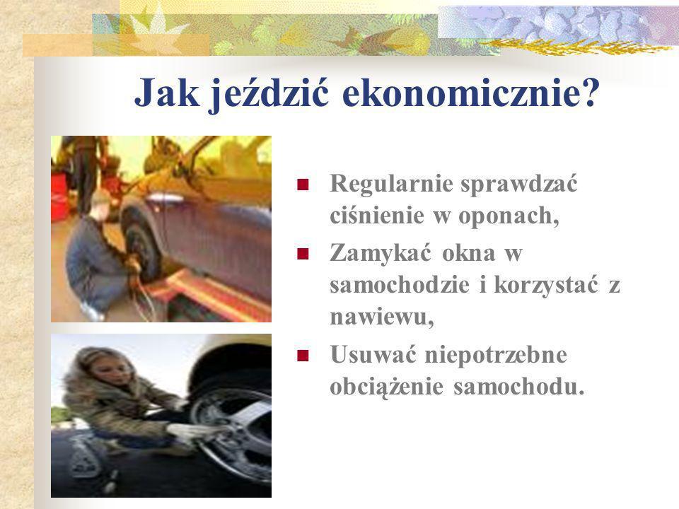 Jak jeździć ekonomicznie.