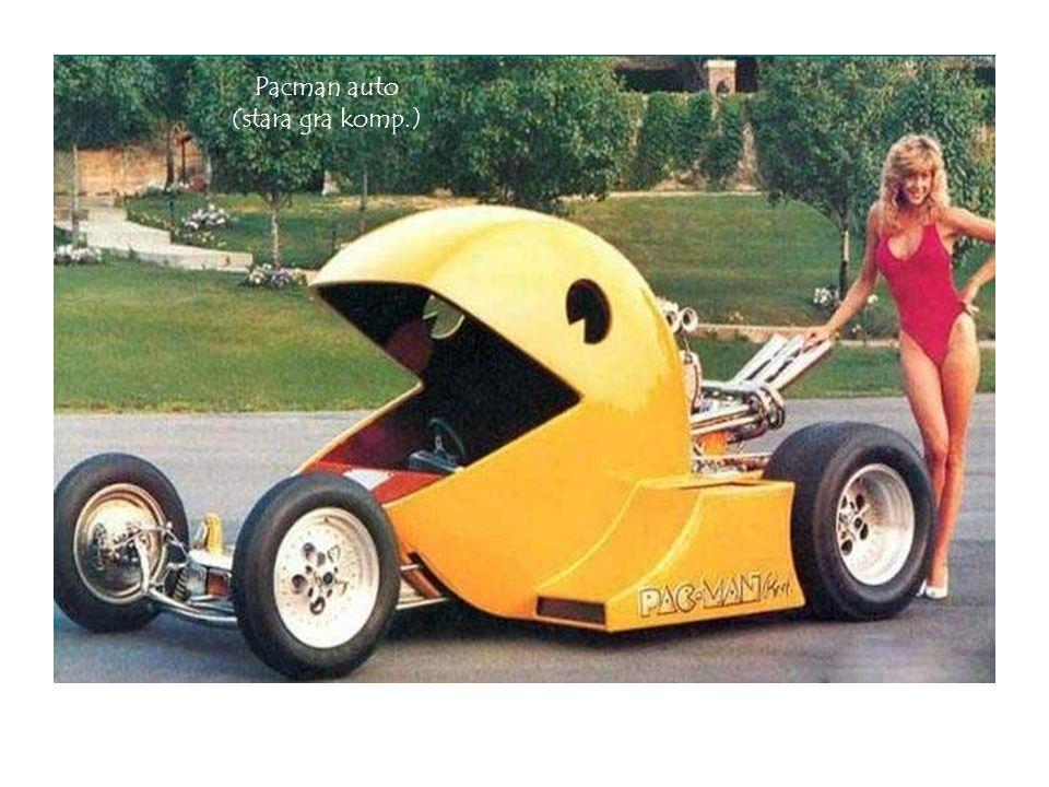 Pacman auto (stara gra komp.)