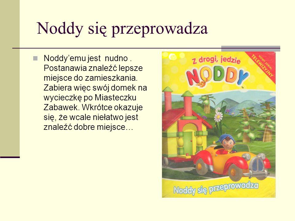 Noddy! Trzymaj kapelusz! W Miasteczku Zabawek jest bardzo wietrzny dzień i Wielkouchy ma kłopoty. Noddy, chcąc go rozweselić, urządza przyjęcie. Ale p