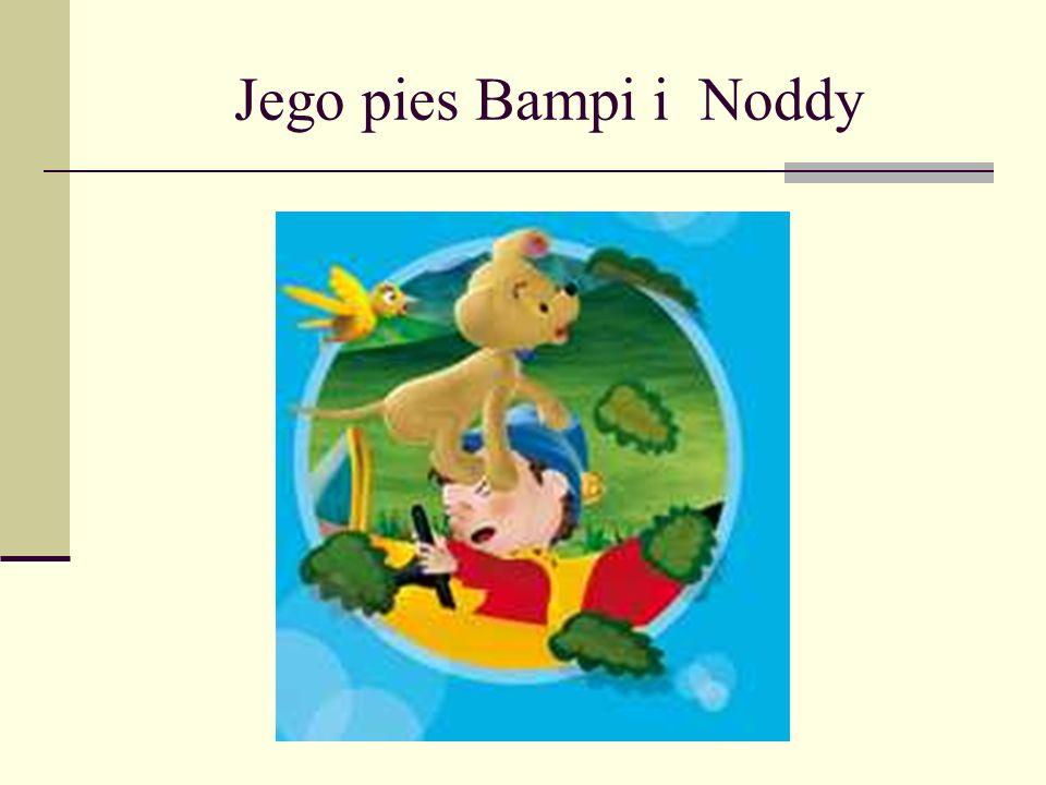 Noddy Pajacyk Noddy mieszka w krainie zabawek gdzie ma dużo przyjaciół.