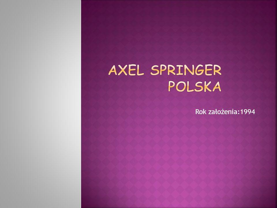 Axel Springer Polska Sp.z o.o. – spółka prawa handlowego, wydawca prasy.