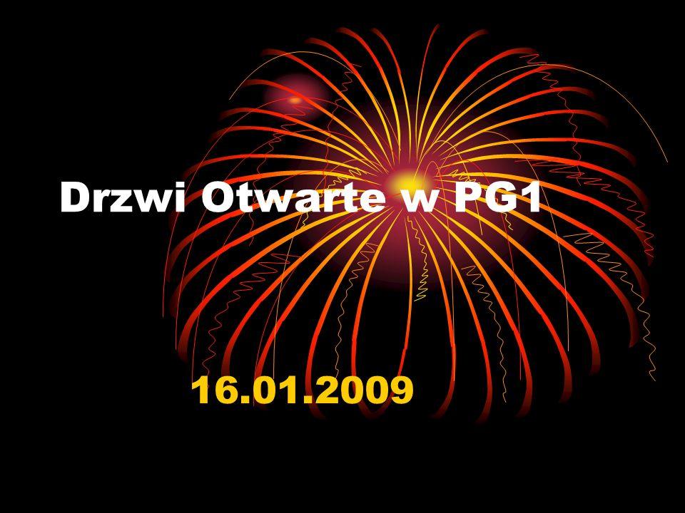 Drzwi Otwarte w PG1 16.01.2009