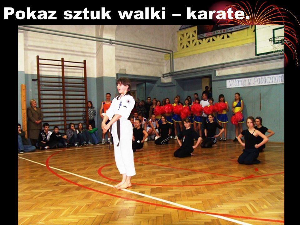 Pokaz sztuk walki – karate.