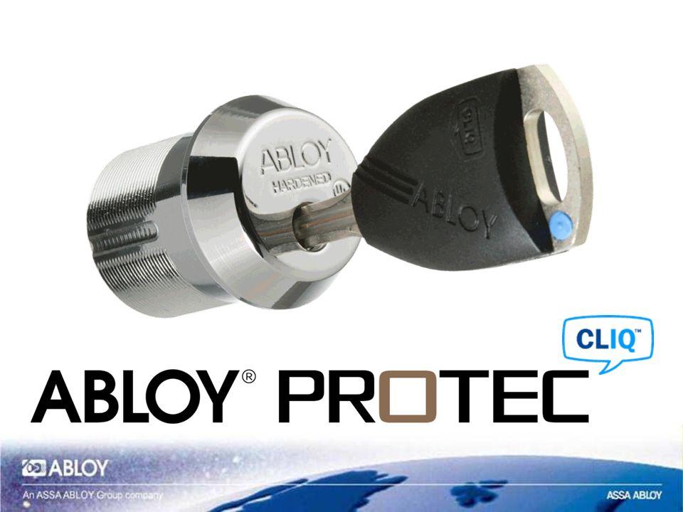 ABLOY ® PROTEC CLIQ - produkty KŁÓDKI WKŁADKI/CYLINDRY