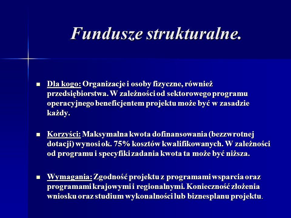 Fundusze strukturalne.Fundusze strukturalne.