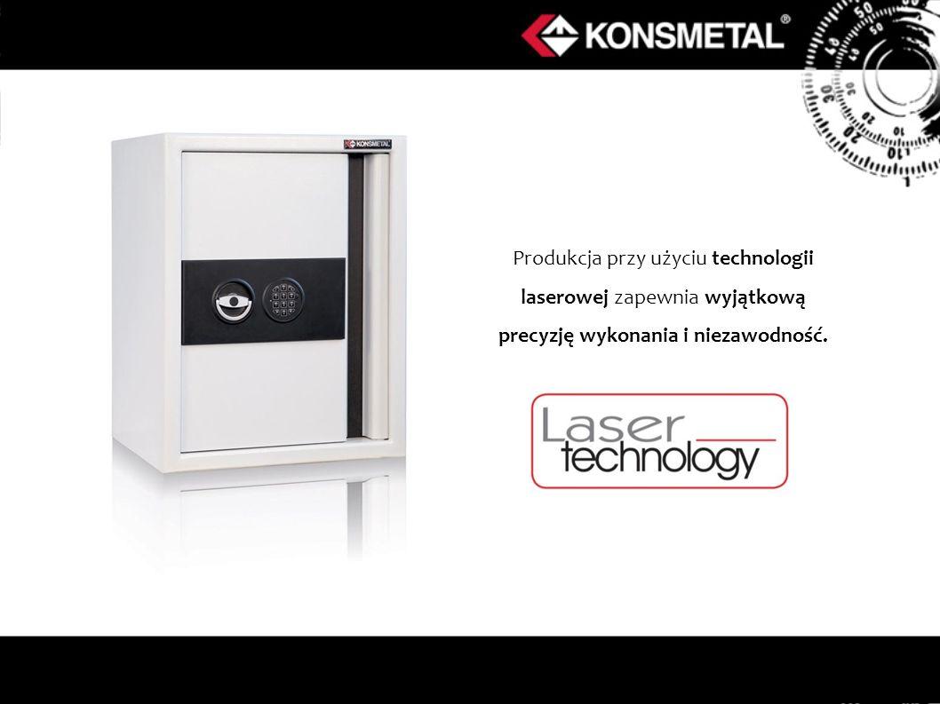 Produkcja przy użyciu technologii laserowej zapewnia wyjątkową precyzję wykonania i niezawodność.