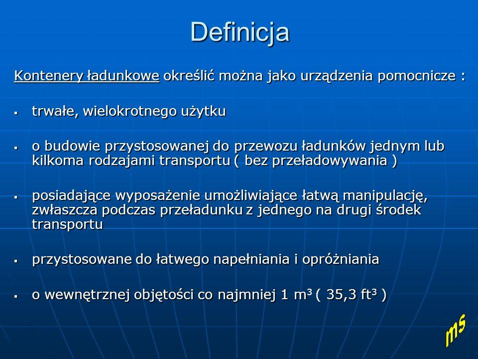 Klasyfikacja kontenerów 1.