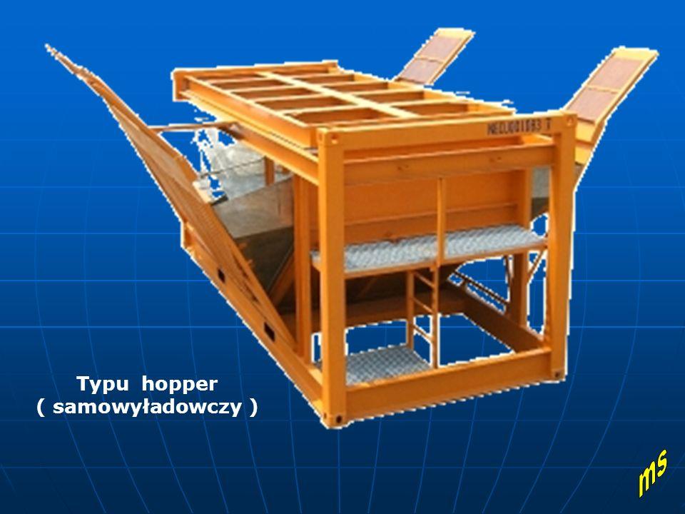 Typu hopper ( samowyładowczy )