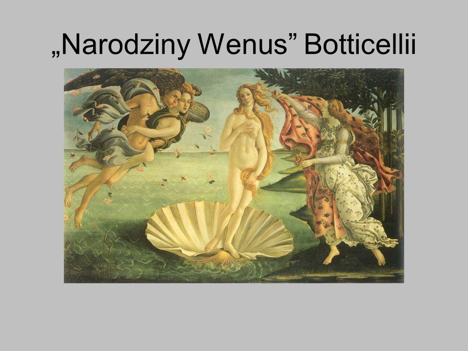 Narodziny Wenus Botticellii