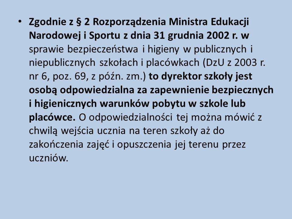 Rozporządzenia Ministra Edukacji Narodowej z dnia 21 maja 2001 r. w sprawie ramowych statutów publicznego przedszkola oraz publicznych szkół (DzU z 20