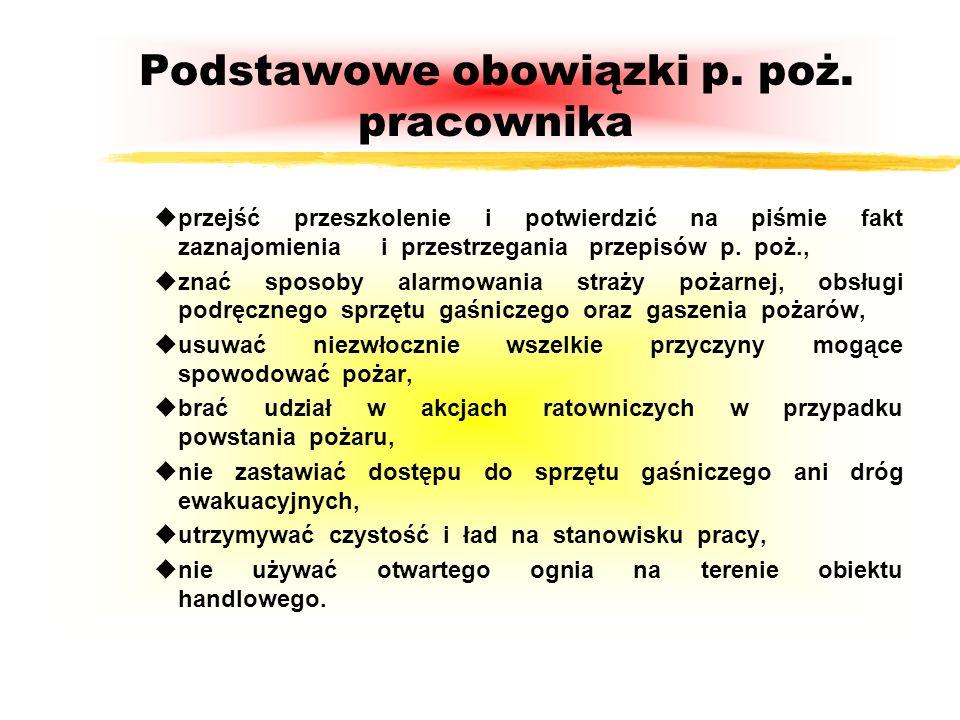 POŻAR i JEGO NASTĘPSTWA Pożar to niekontrolowany proces palenia w miejscu do tego nie przeznaczonym. uWarunki konieczne do zaistnienia pożaru : - inic