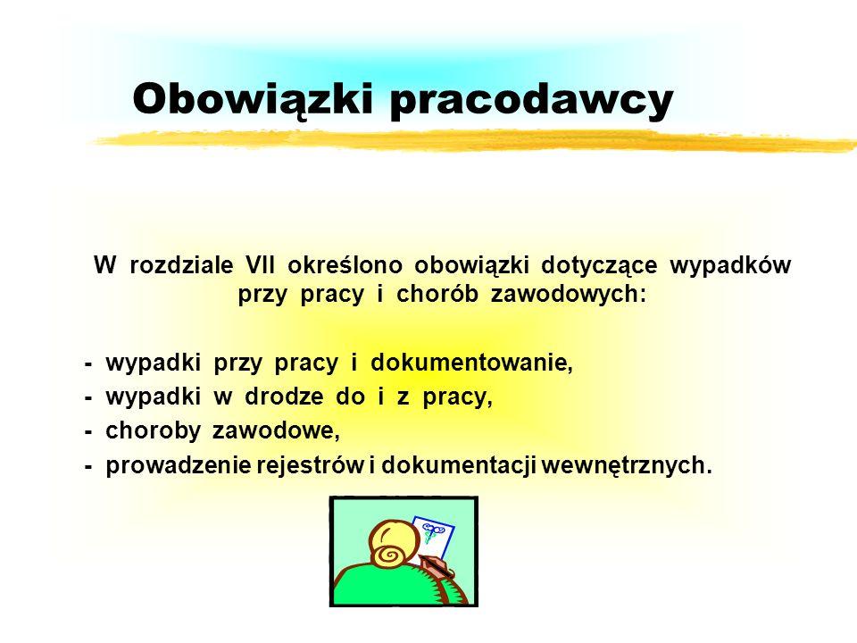 WYPADEK PRZY PRACY /Ustawa z dn.