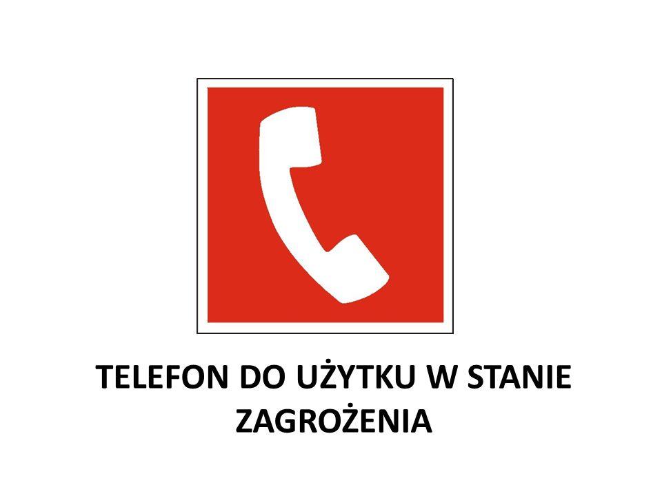 TELEFON DO UŻYTKU W STANIE ZAGROŻENIA