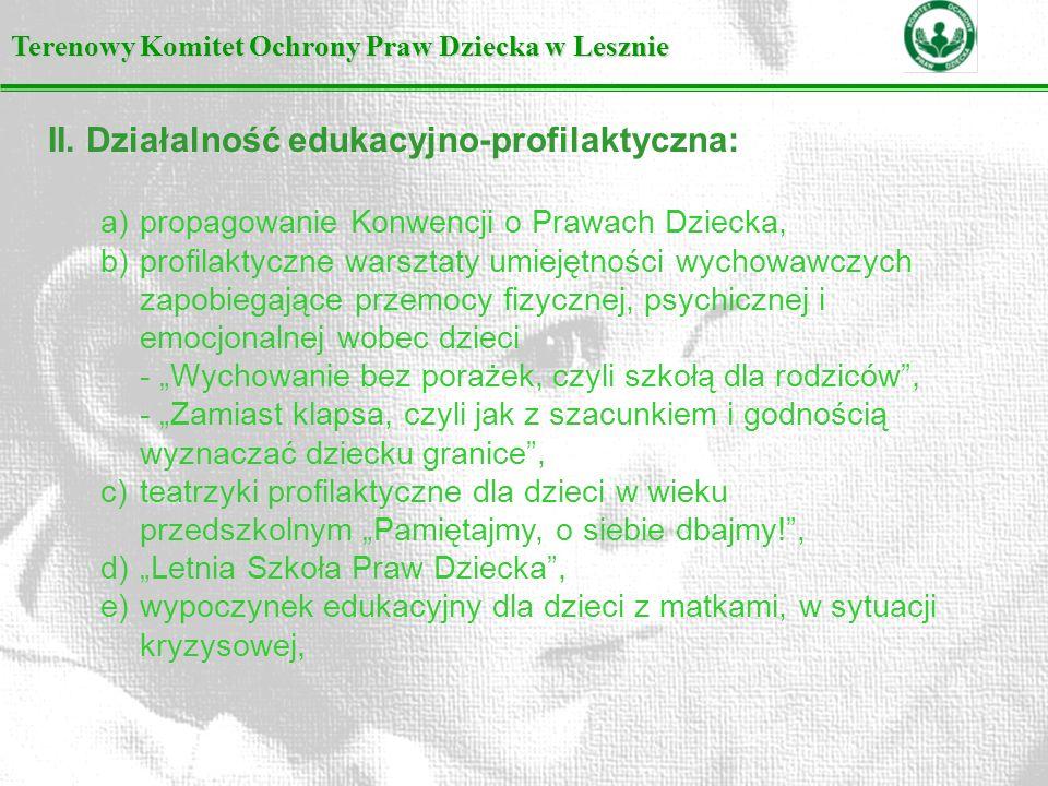 Terenowy Komitet Ochrony Praw Dziecka w Lesznie II.