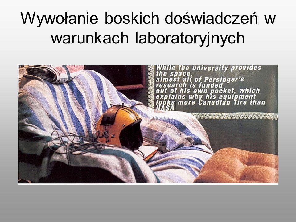 Wywołanie boskich doświadczeń w warunkach laboratoryjnych