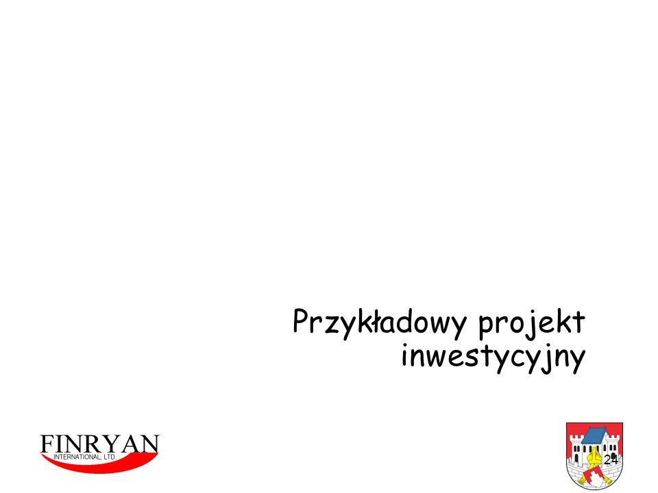 24 Przykładowy projekt inwestycyjny