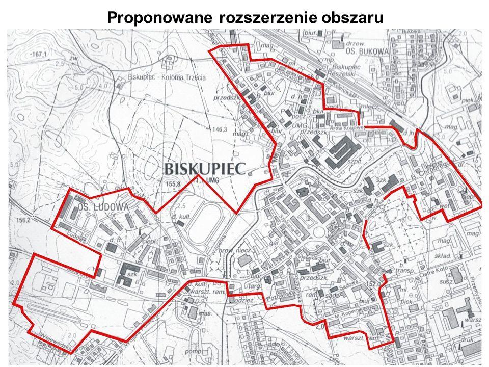 30 Proponowane rozszerzenie obszaru
