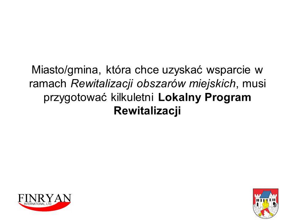 10 Lata 2004-2006 Zintegrowany Program Operacyjny Rozwoju Regionalnego PRIORYTET III – Rozwój lokalny Działanie 3.3 – Zdegradowane obszary miejskie, poprzemysłowe i powojskowe Poddziałanie 3.3.1 – Rewitalizacja obszarów miejskich Poddziałanie 3.3.2 – Rewitalizacja obszarów poprzemysłowych i powojskowych Lata 2007-2013 Regionalne Program Operacyjny Warmia i Mazury Oś priorytetowa 4 : Rozwój, restrukturyzacja i rewitalizacja miast
