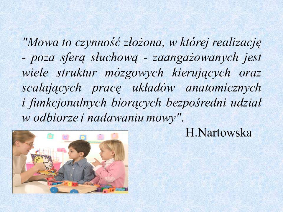 W okresie tym dzieci tworzą wiele form nie używanych przez dorosłych.