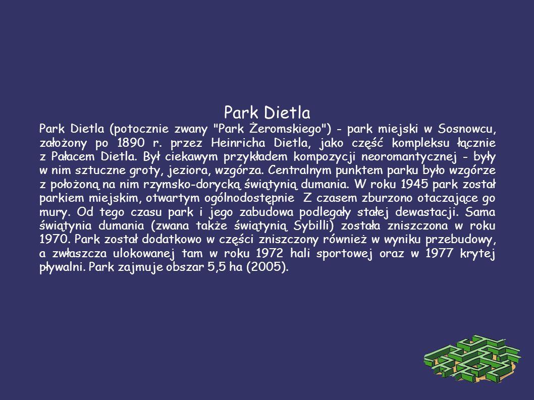 Park Dietla Park Dietla (potocznie zwany