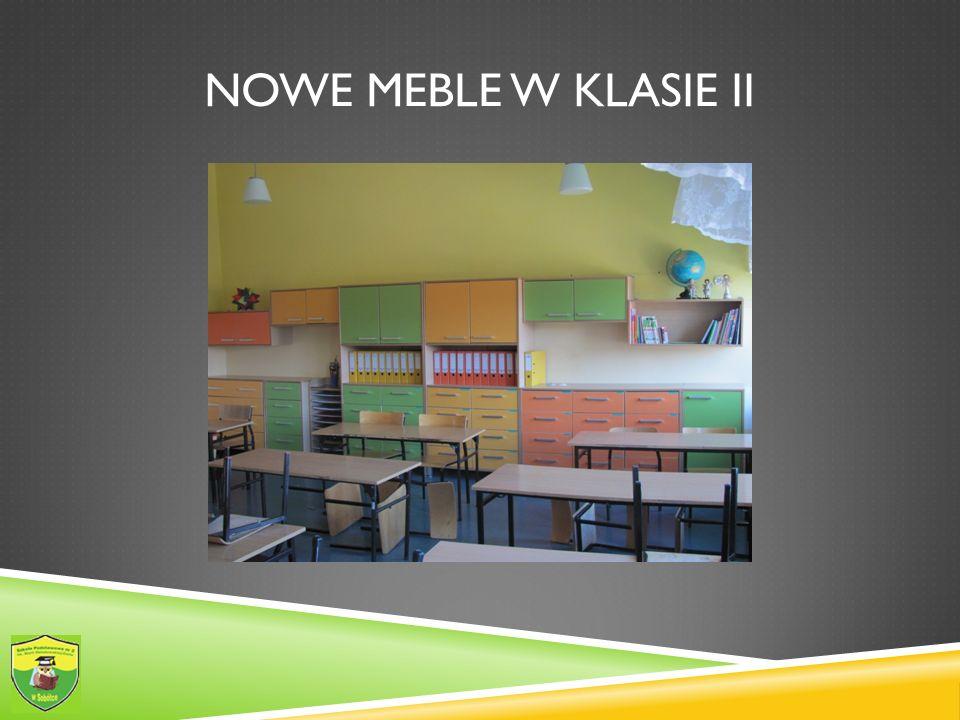NOWE MEBLE W KLASIE II