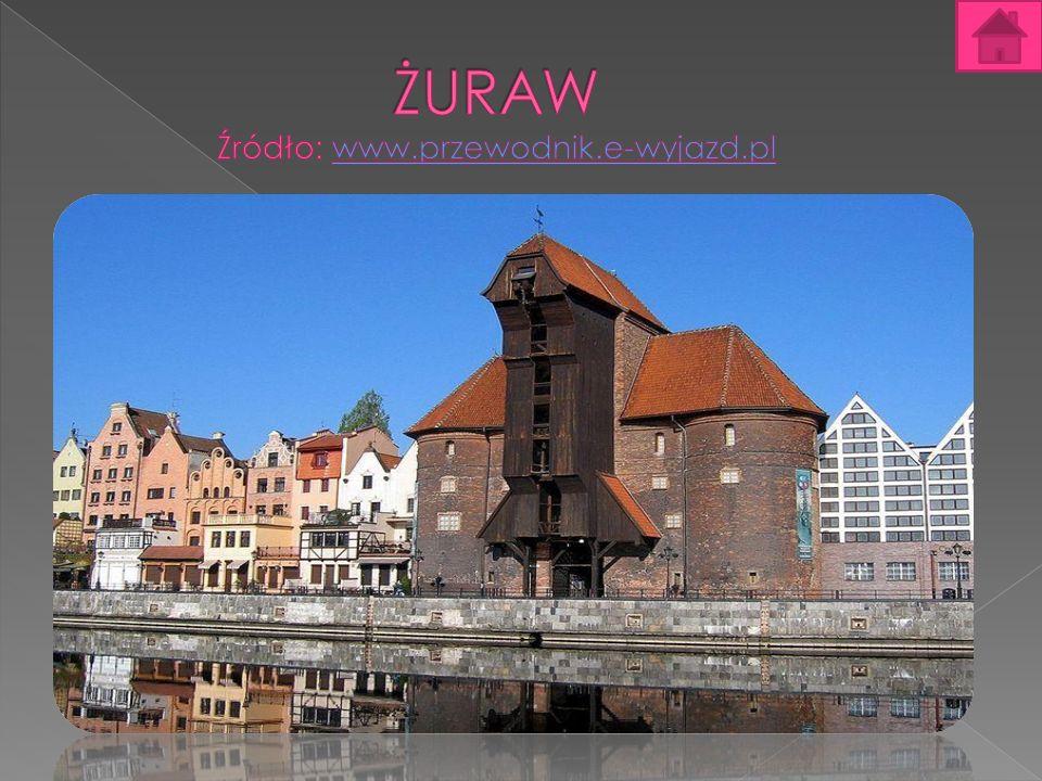 Żuraw Żuraw – zabytkowy dźwig portowy Gdańska, usadowiony pomiędzy pylonami Bramy Szerokiej nad Motławą.
