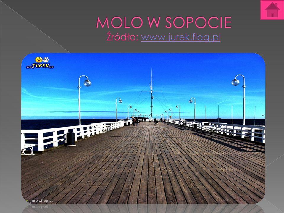 Molo w Sopocie Molo w Sopocie im.Jana Pawła II – najdłuższe molo nad Morzem Bałtyckim.