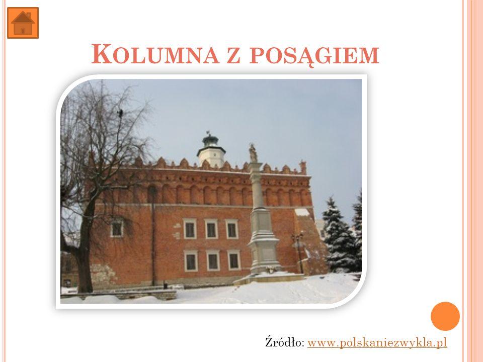 K OLUMNA Z POSĄGIEM Źródło: www.polskaniezwykla.plwww.polskaniezwykla.pl