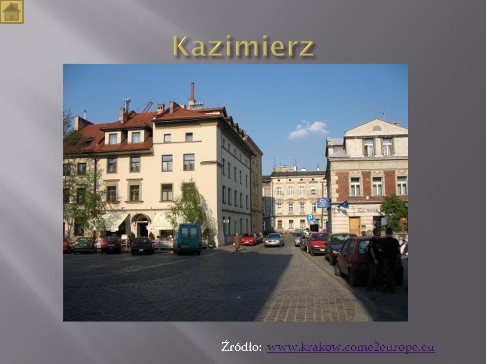 Źródło: www.krakow.come2europe.euwww.krakow.come2europe.eu
