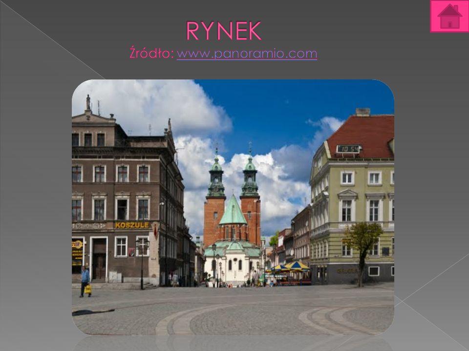 Rynek Rynek w Gnieźnie – część Starego Miasta, mieszcząca się na Wzgórzu Panieńskim – jednym z siedmiu gnieźnieńskich pagórków.