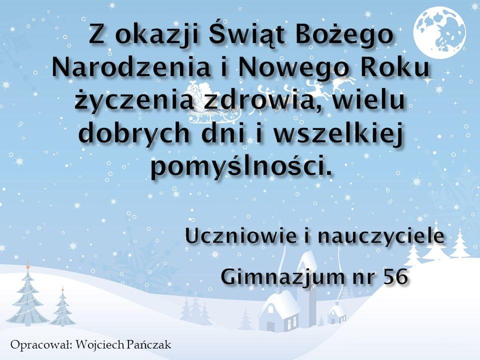 Opracował: Wojciech Pańczak