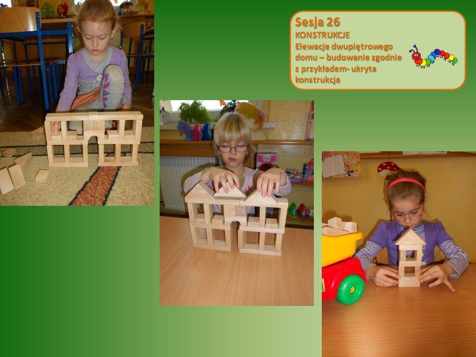 Sesja 26 KONSTRUKCJE Elewacje dwupiętrowego domu – budowanie zgodnie z przykładem- ukryta konstrukcja