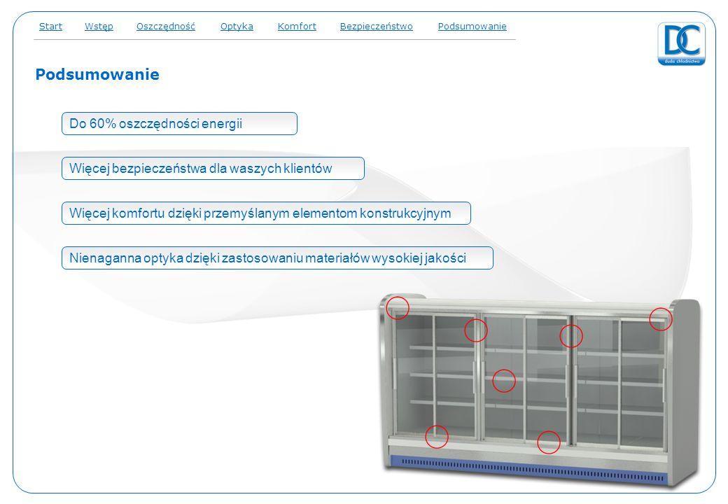 resume Do 60% oszczędności energii Więcej bezpieczeństwa dla waszych klientów Więcej komfortu dzięki przemyślanym elementom konstrukcyjnym Nienaganna