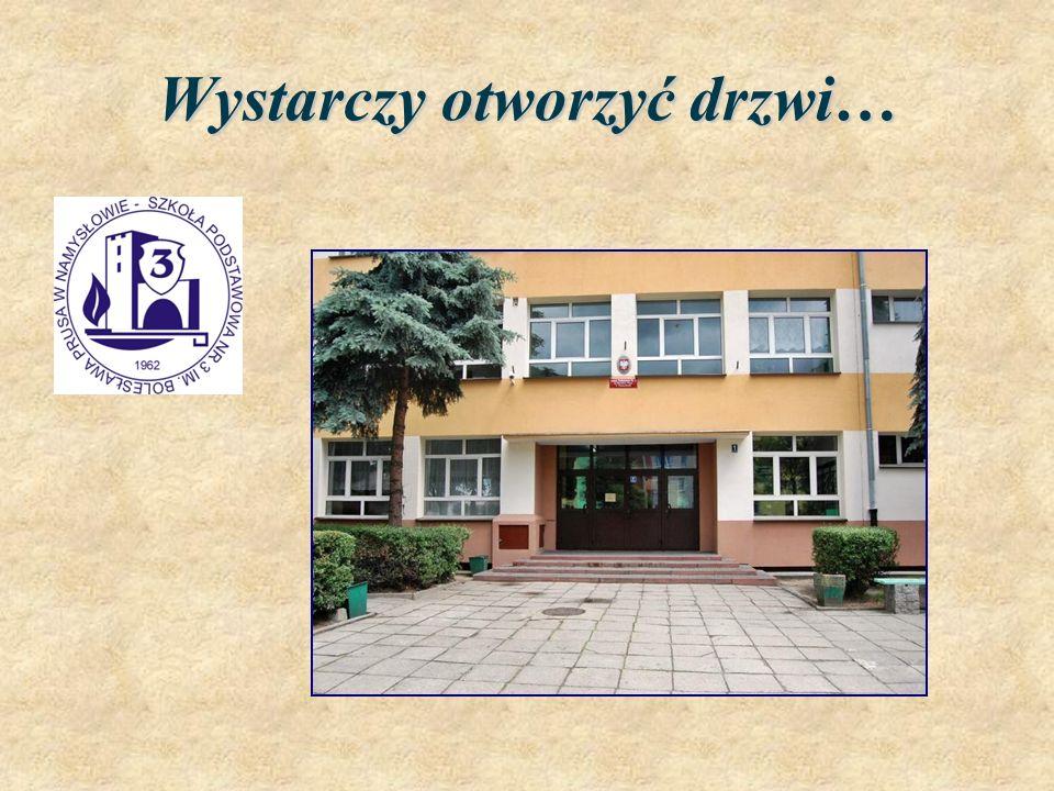 Nasza wizytówka… Szkoła Podstawowa Nr 3 Łączańska 1 46-100 Namysłów telefon/fax.: (77)410 05 47 e-mail: sp3namyslow @ wodip.opole sp3prus @ o2.pl www.sp3namyslow.pl