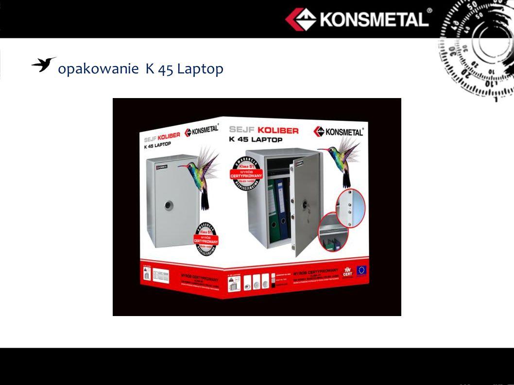 opakowanie K 45 Laptop