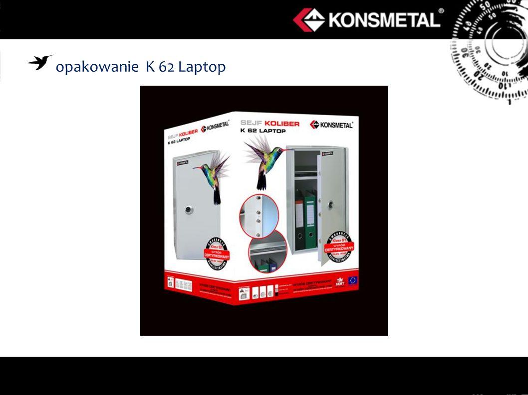 opakowanie K 62 Laptop