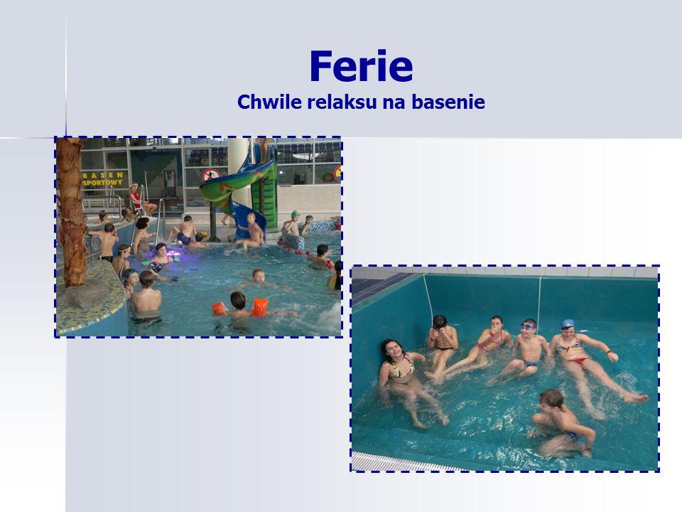 Ferie Chwile relaksu na basenie