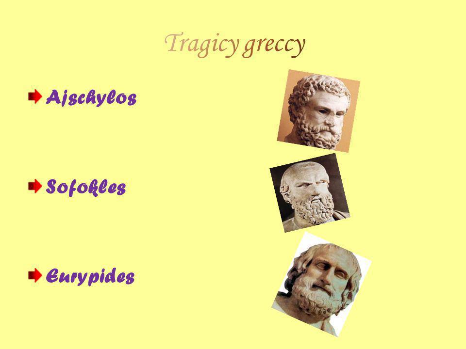 Ajschylos Sofokles Eurypides