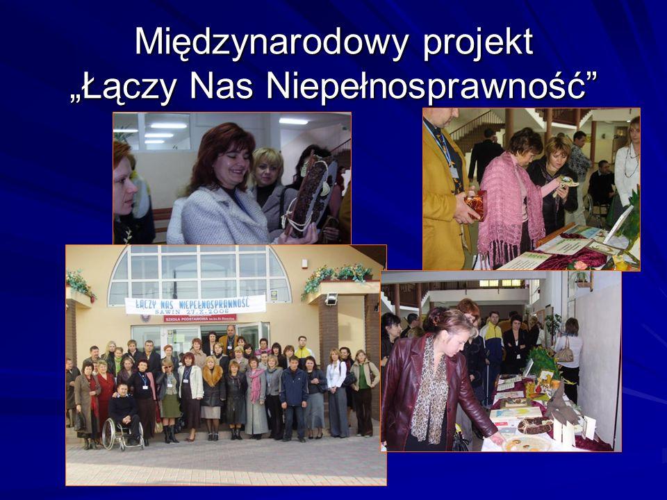 Międzynarodowy projekt Łączy Nas Niepełnosprawność