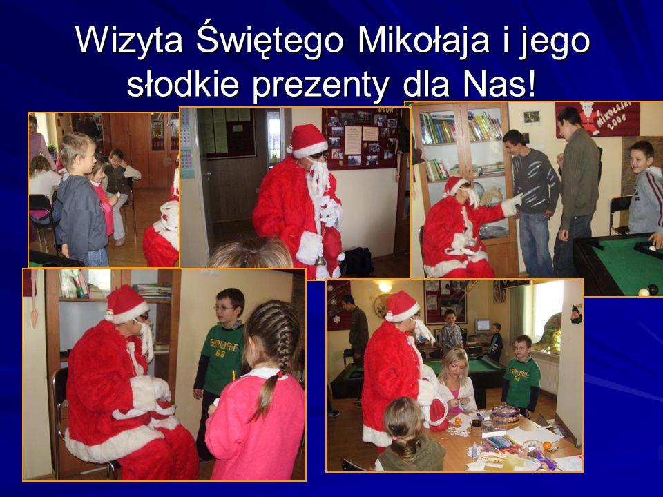 Wizyta Świętego Mikołaja i jego słodkie prezenty dla Nas!