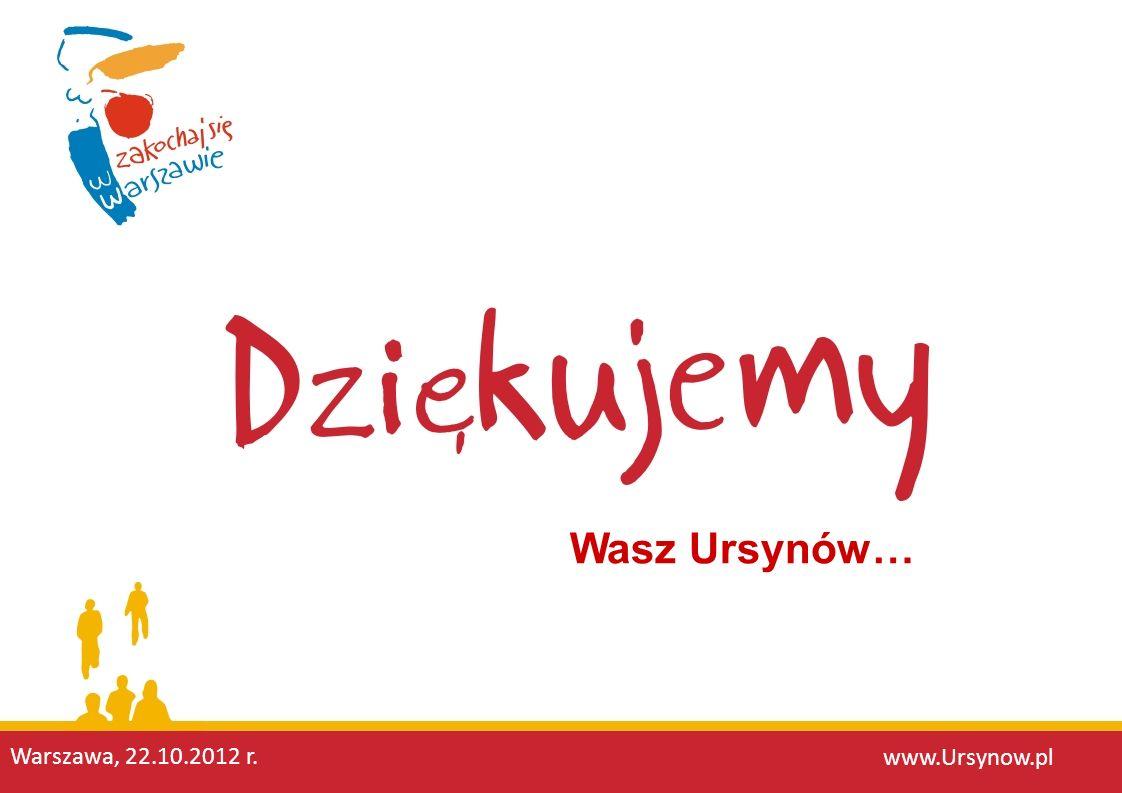 Wasz Ursynów… www.Ursynow.pl Warszawa, 22.10.2012 r.