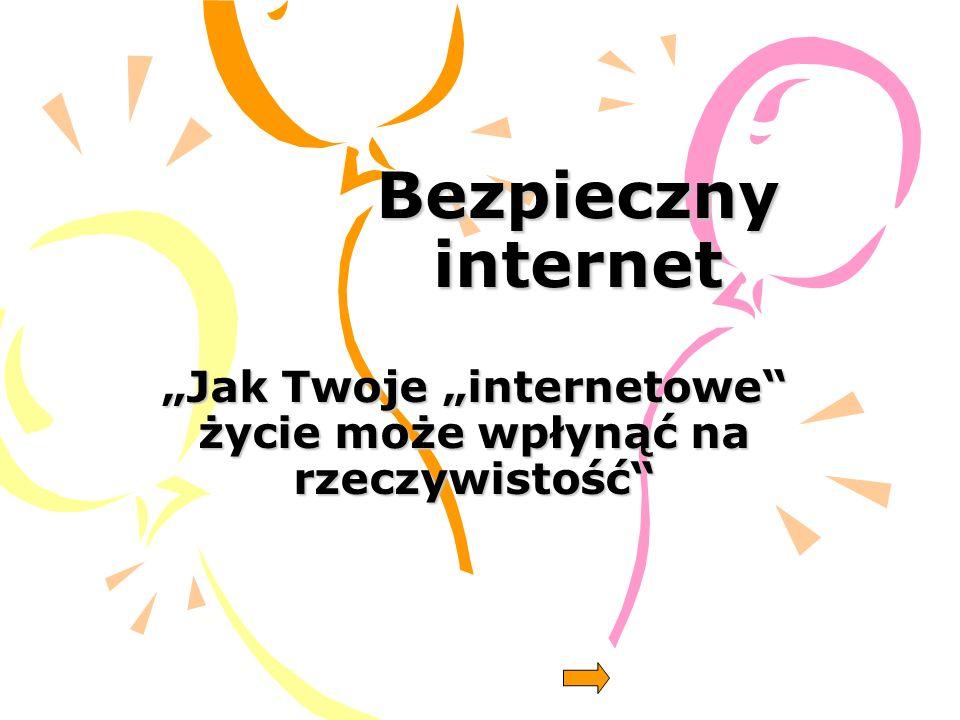 Napewno, każdy z Was, miał możliwość korzystania z Internetu.