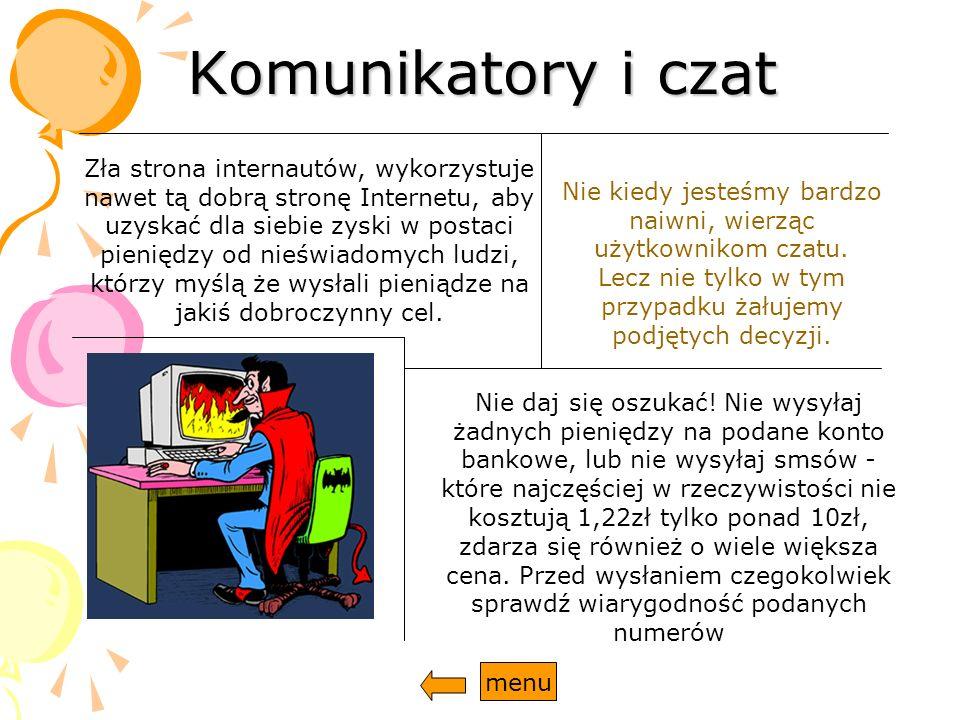 Spam Spam, jest często spotykaną próbą reklamy oraz dostarczeniu danych z komputera ofiary.