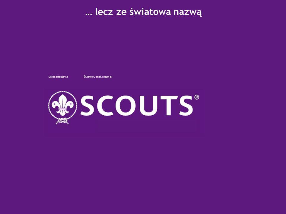 2007 – Scoutings Centenary Naszym emblematem nadal pozostaje Lilijka skautowa Fleur-de-lys lilijka