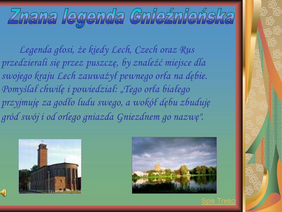 Gniezno stolicą Polski było od 991 r. Wokół Gniezna znajdują się 3 jeziora: Świętokrzyskie, Jelonek oraz Winiary. Gniezno mieści się w woj. Wielkopols