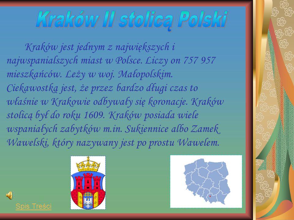 Kraków jest jednym z największych i najwspanialszych miast w Polsce.