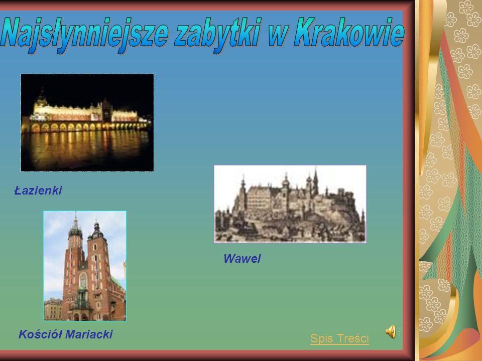 Łazienki Kościół Mariacki Wawel