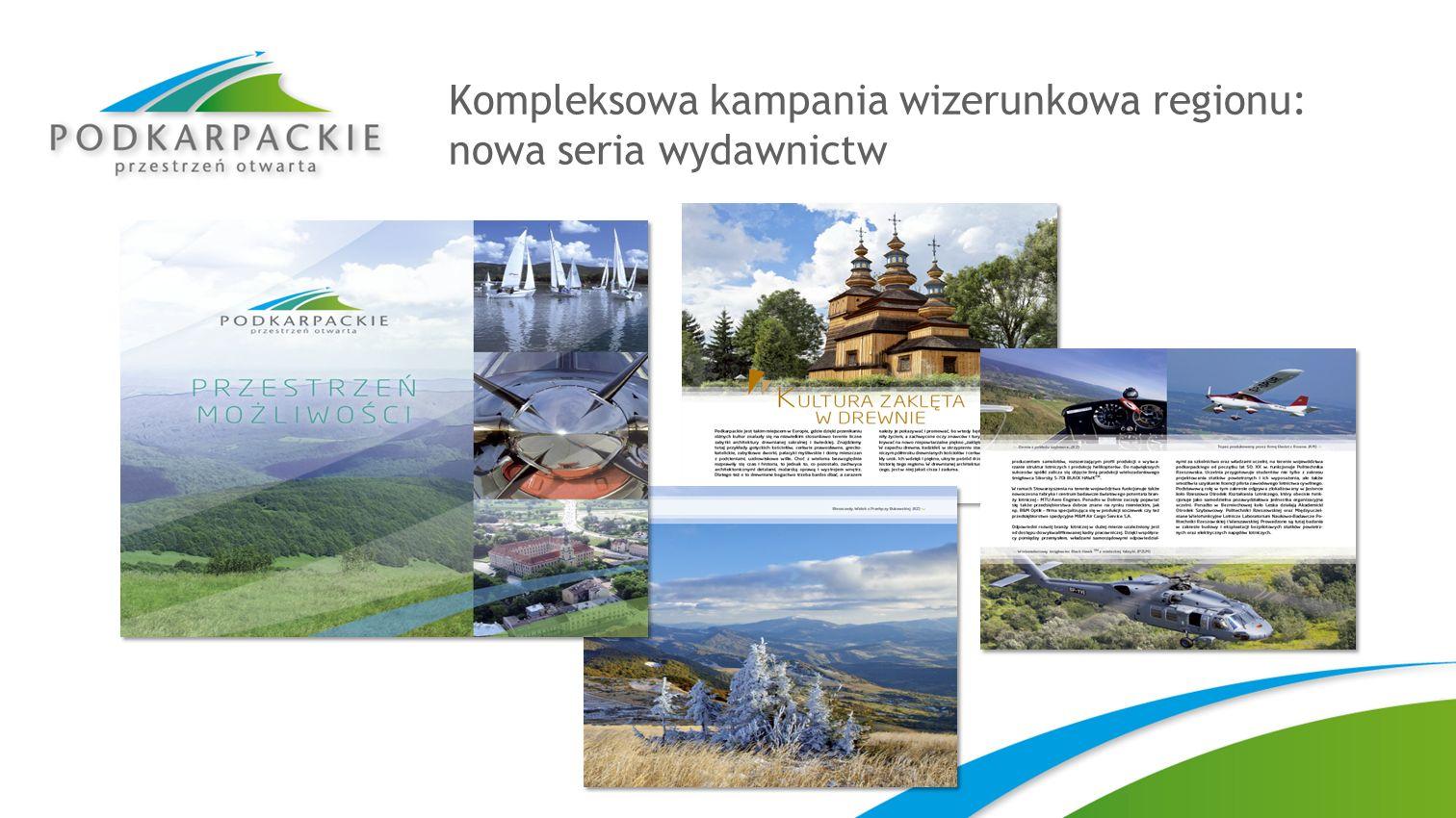 Kompleksowa kampania wizerunkowa regionu: nowa seria wydawnictw