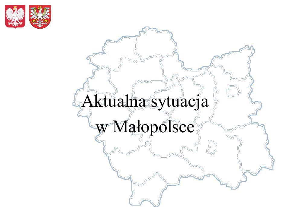 Aktualna sytuacja w Małopolsce